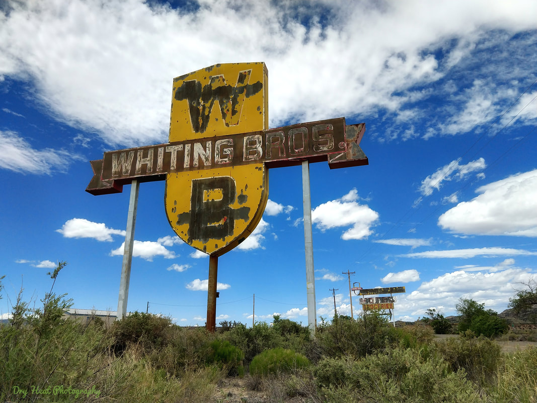 Whiting Bros. Filling Station on Route 66 in New Mexico
