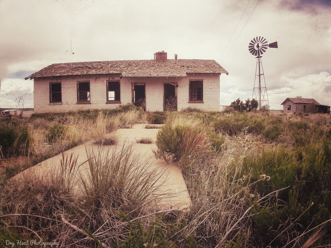 Abandoned farm house in Ramah, New Mexico. DeAnna Vincent