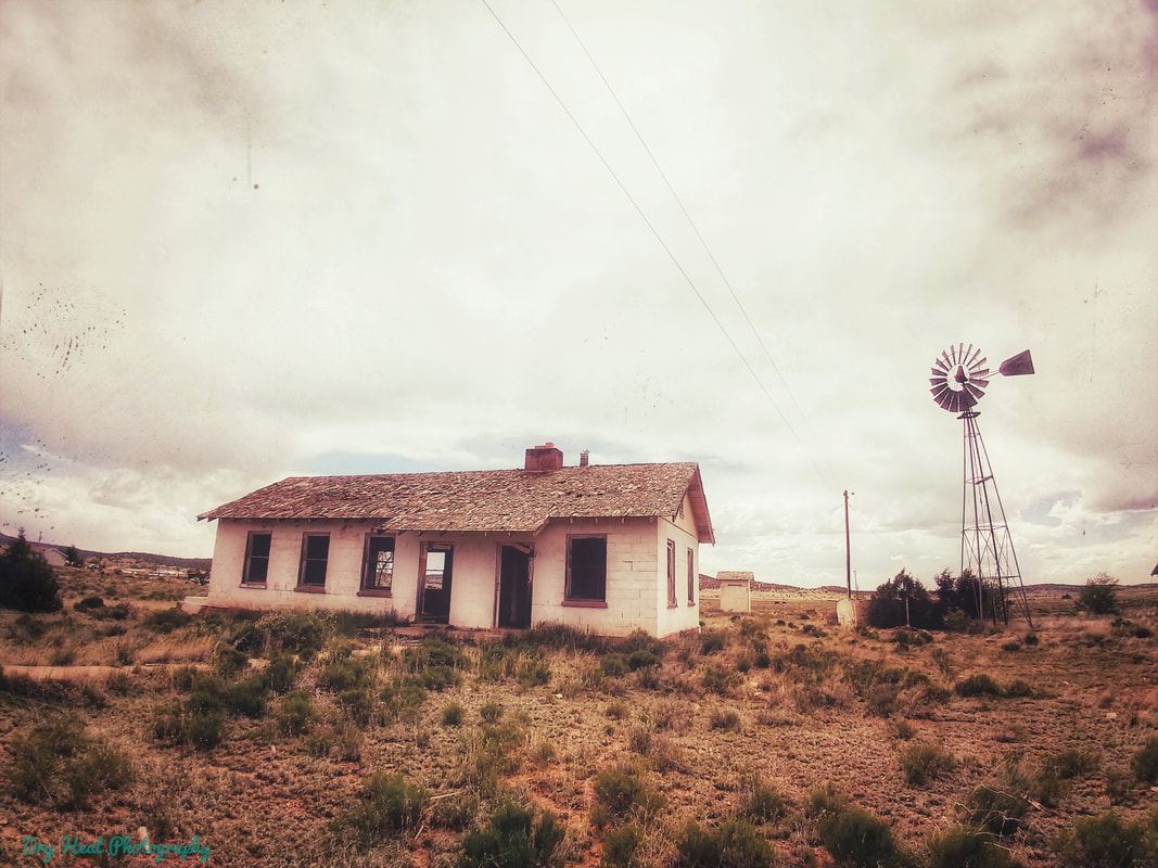 Abandoned house in Ramah, New Mexico