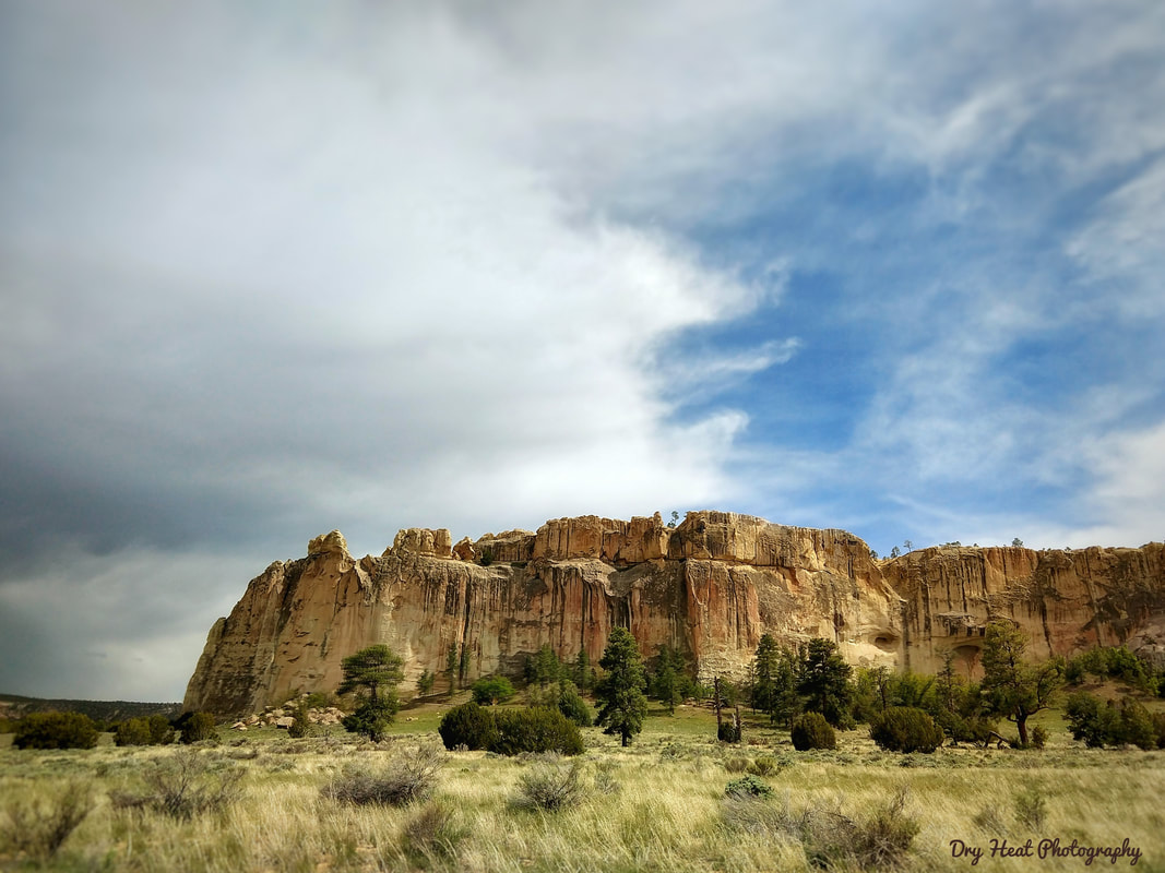 El Morro National Monument near Ramah, New Mexico.