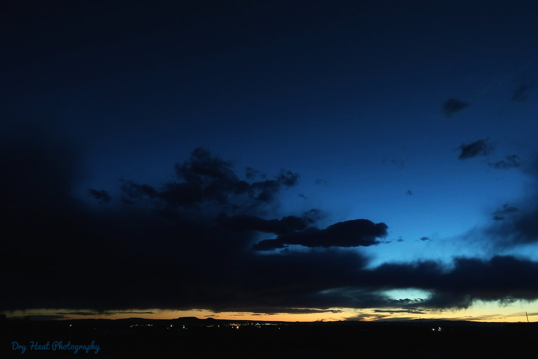 Civil Twilight in Meadow Lake, New Mexico