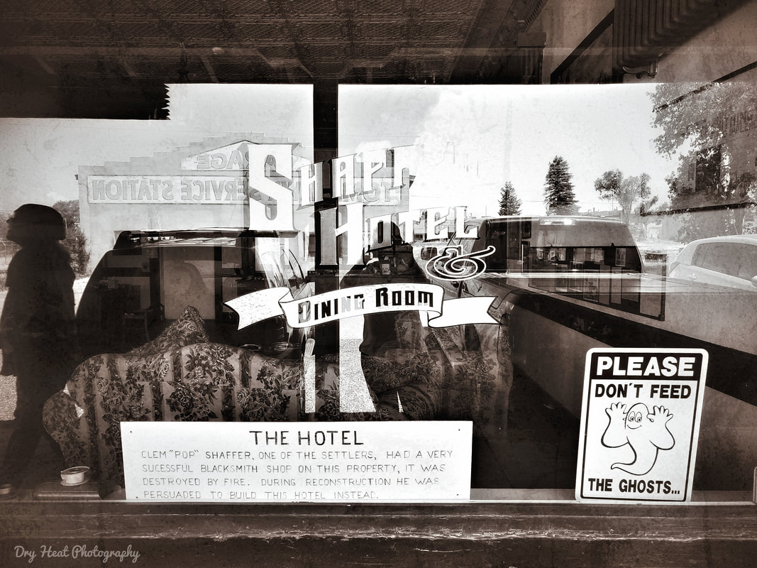 Shaffer Hotel in Mountainair, New Mexico. June 2019