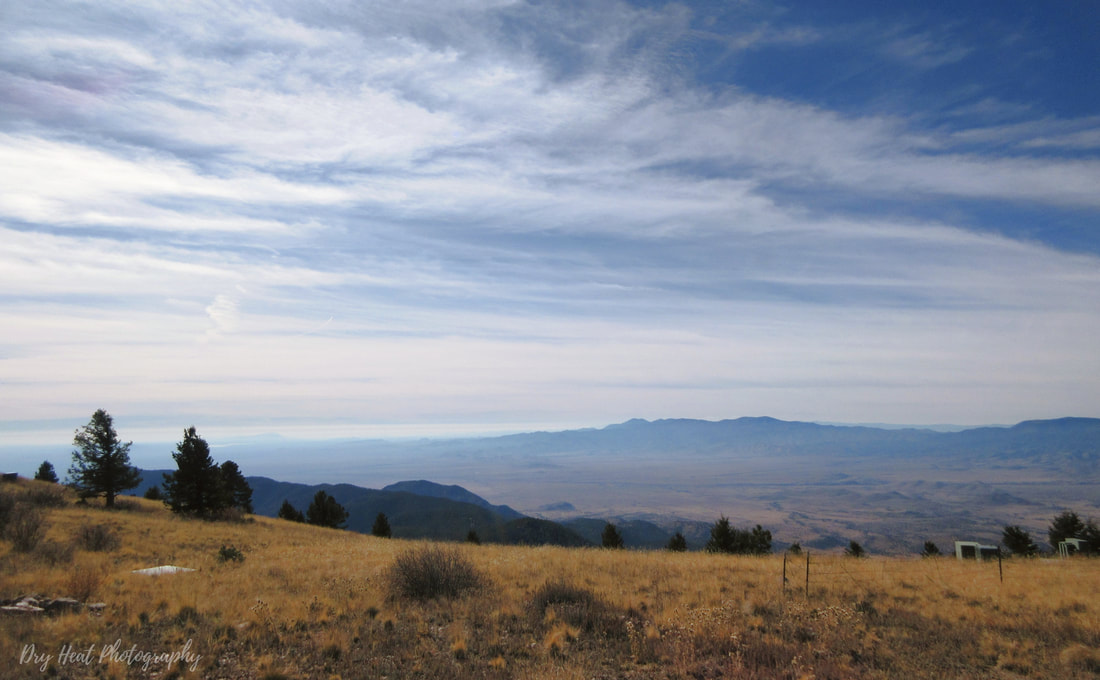 View from the Magdalena Ridge Observatory in New Mexico