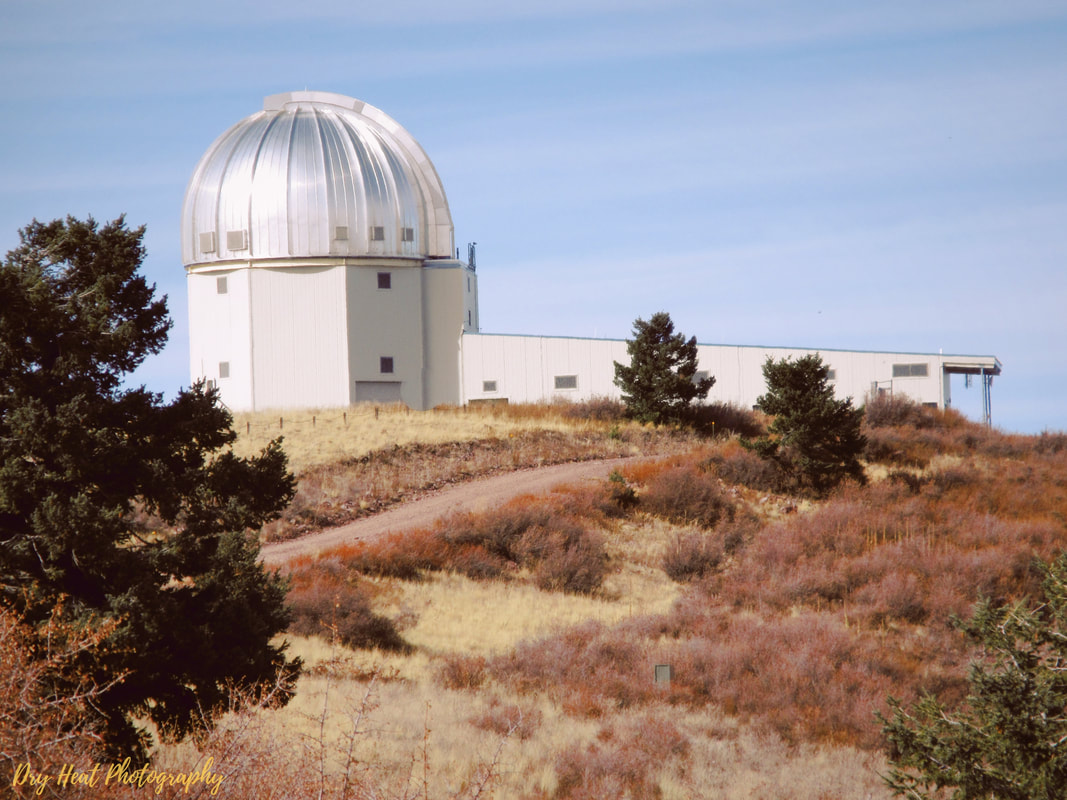 2.4 meter telescope at the Magdalena Ridge Observatory in New Mexico