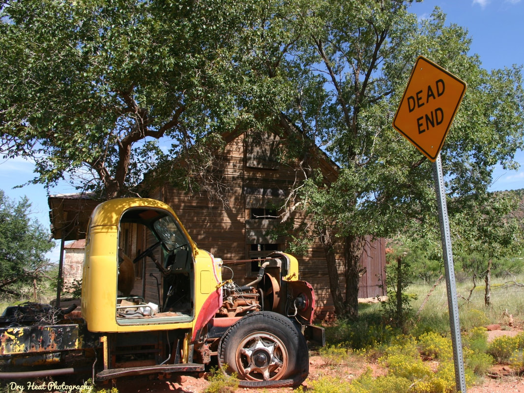 The ghost town of Cuervo, New Mexico