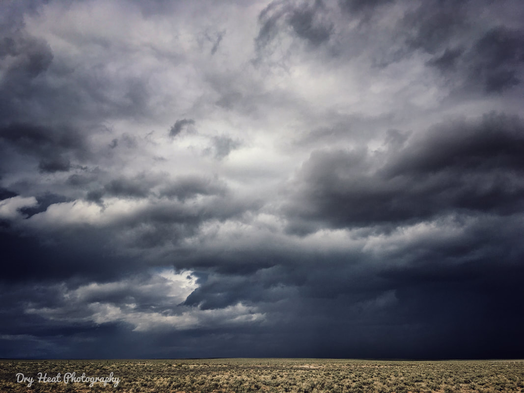 Dramatic New Mexico Skies. Dry Heat Photography