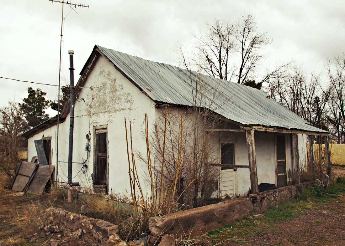 Abandoned house in San Antonio, New Mexico