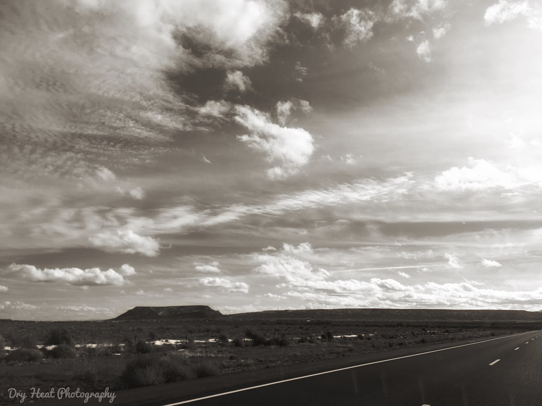 Historic Route 66 in New Mexico. Dry Heat Photography